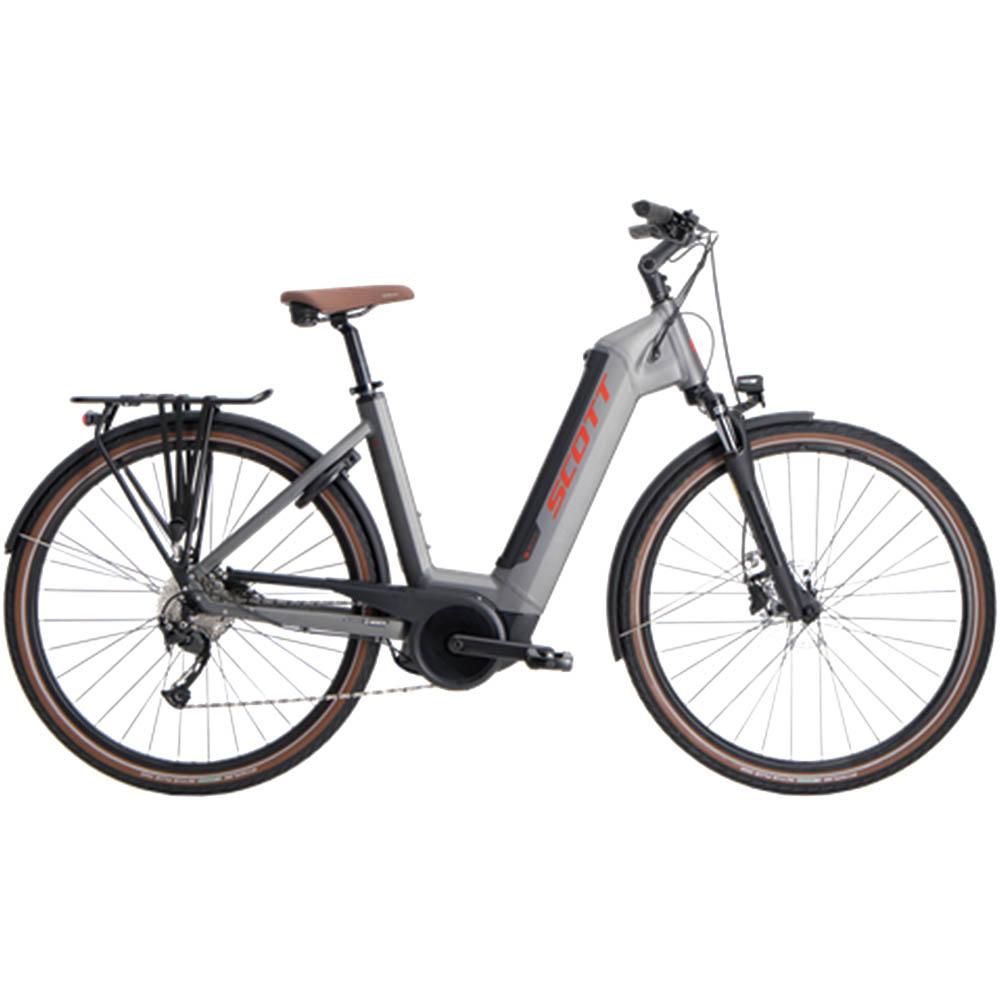 scott hybrid el sykkel