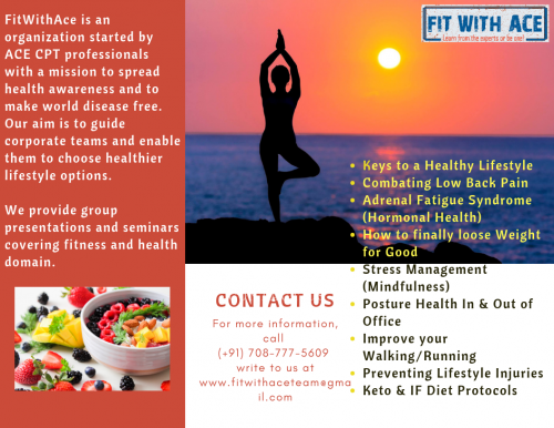 Our Corporate Wellness program offerings