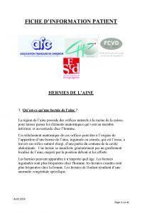 Hernie AFC