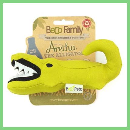 speelgoed hond aretha de alligator speeltje