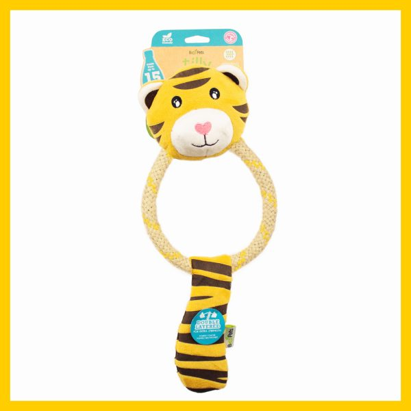 speelgoed hond tilly de tijger speeltje hond
