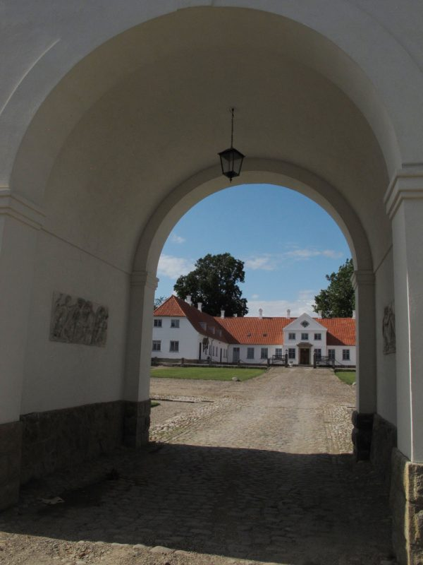 Port, indgang, allé, portal, entrance