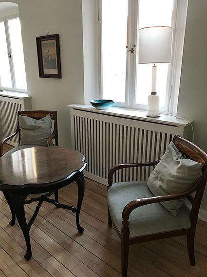 Livingroom, stue, flintholm gods