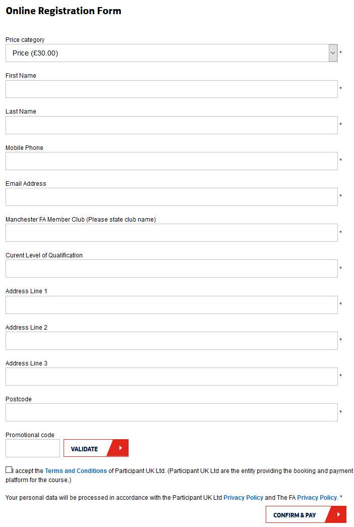 MFA Coach Membership Form