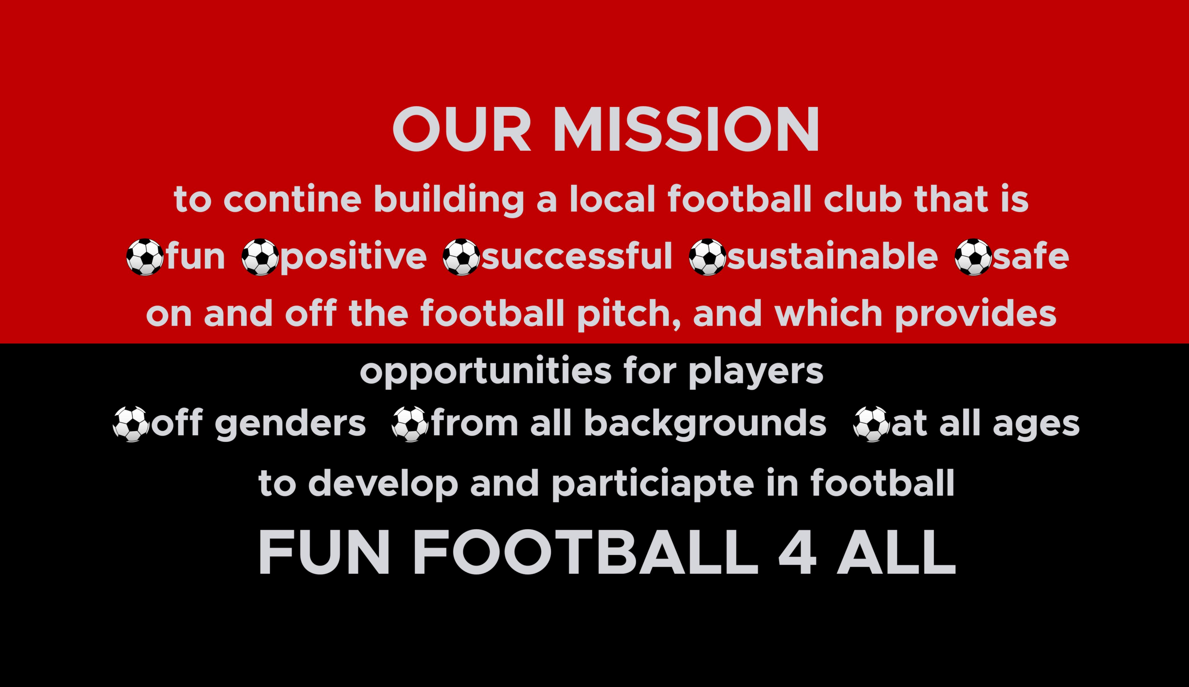 Flixton Juniors AFC Mission Fun Football 4 All