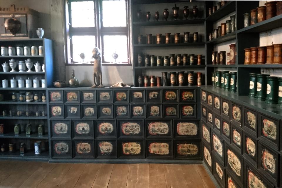 Старая аптека, музей Старый город Дания