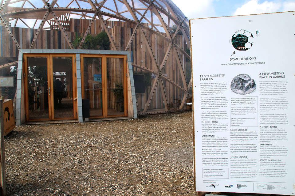 Dome of vision Aarhus Купол Видения в Орхусе