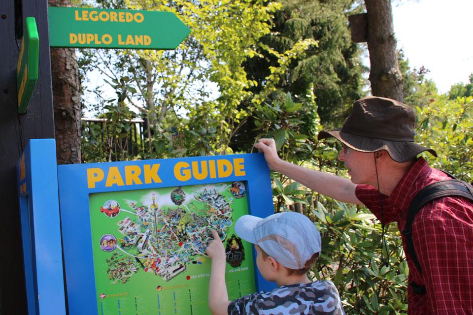 Парк Леголенд в Дании