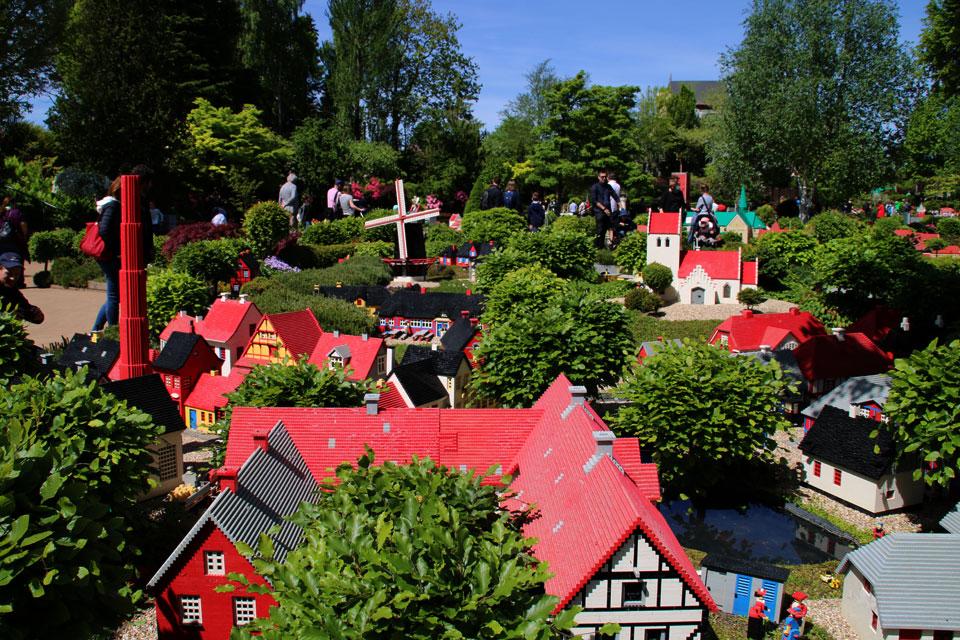 Лиллебю / Lilleby - это самая первая модель парка Legoland