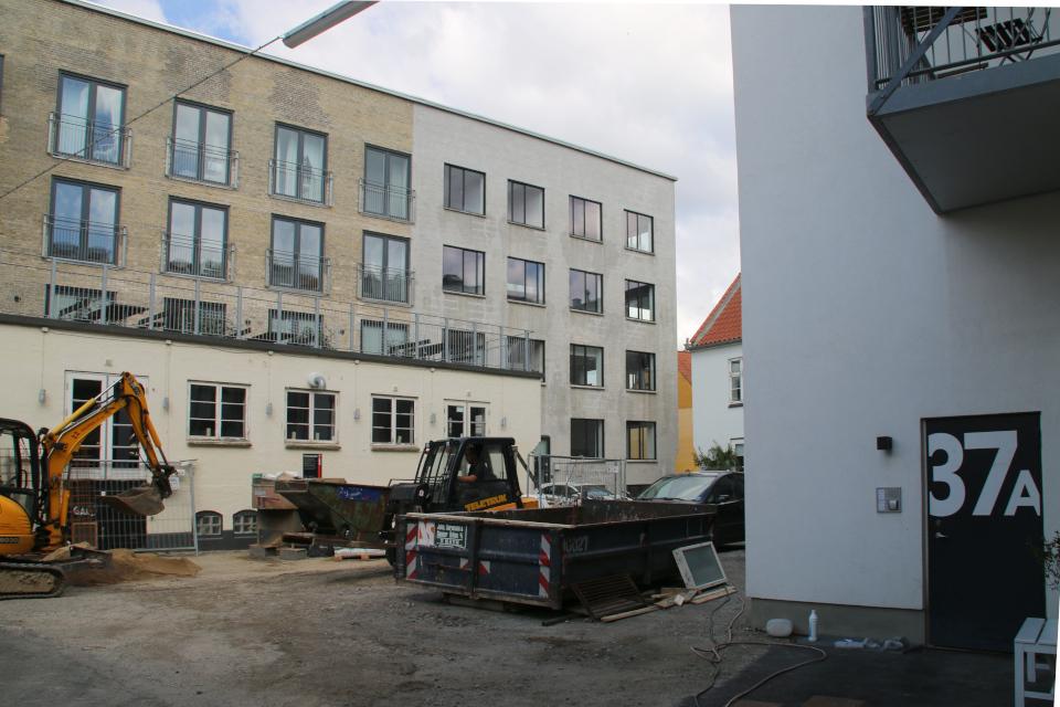 Майлгэде Орхус, реконструкция зданий