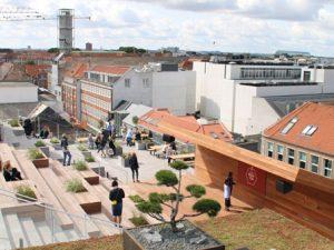 Парк на крыше магазина Саллинг