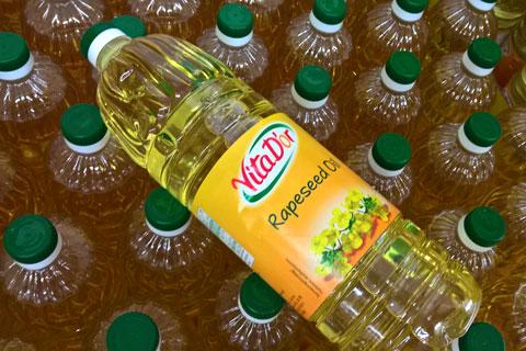 Рафинированное масло рапса
