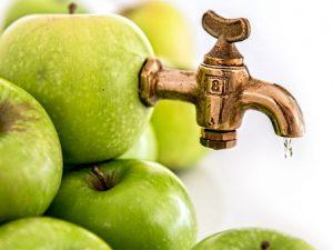 Яблочный сок в Дании