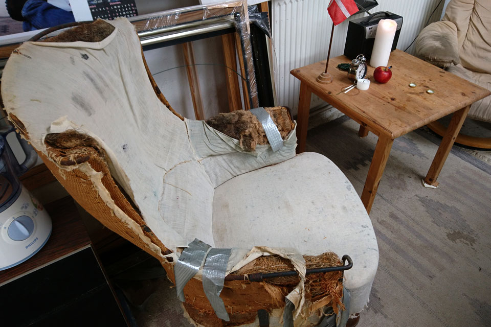 Конопля в качестве наполнителя мягкой мебели