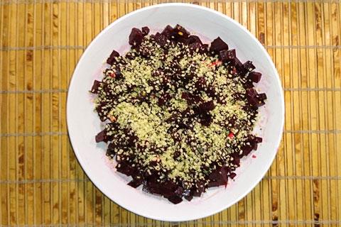 Рецепты из конопли - свекольный салат