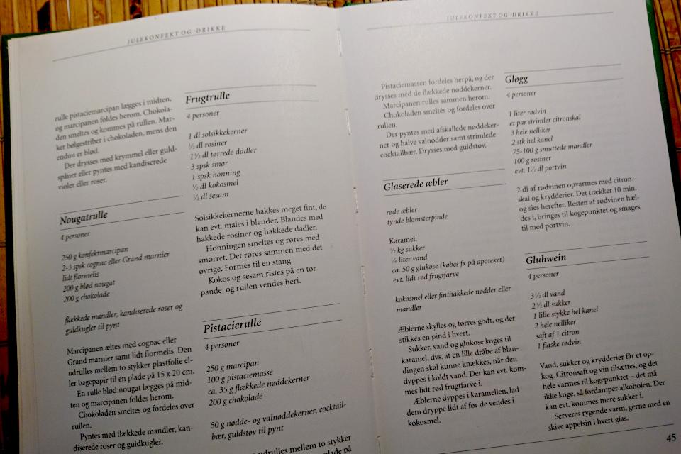 Рецепты глогг (Gløgg) и глинтвейн (Gluhwein) из поваренной книги Фрёкен Йенсен