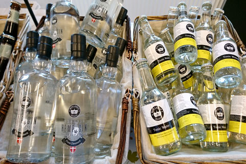 Джин-тоник hemp gin tonic water hemp