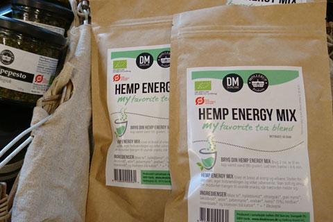 Конопляный чай Hemp energy mix