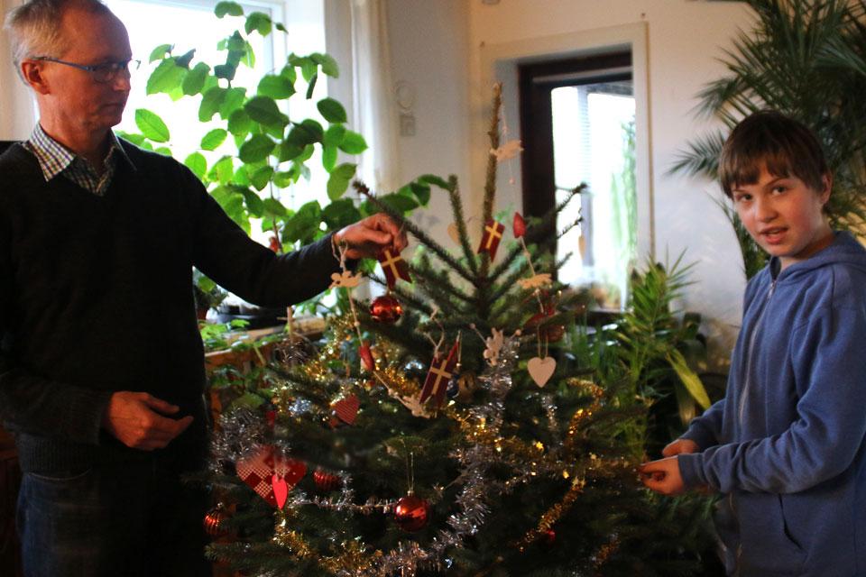 Привычная с детства традиционная новогодняя елка
