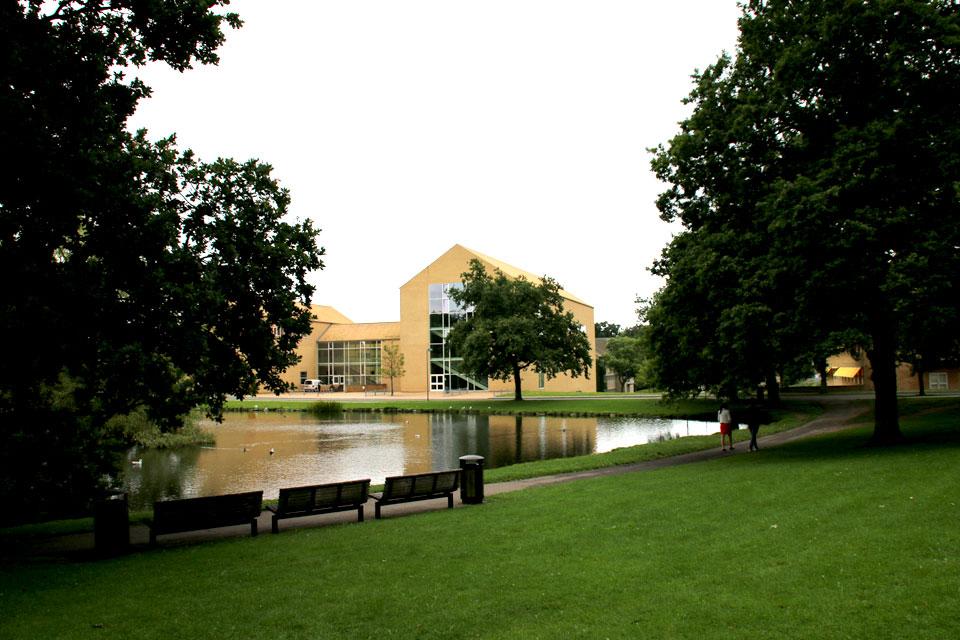 Парк Орхусского Университета, Дания