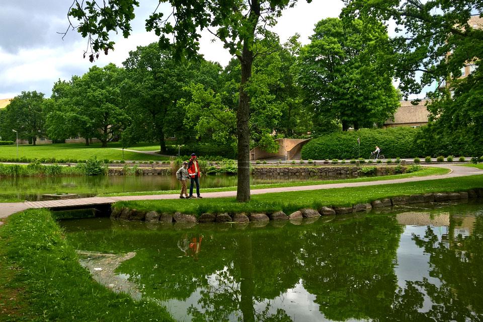 Парк Орхусского унивеситета