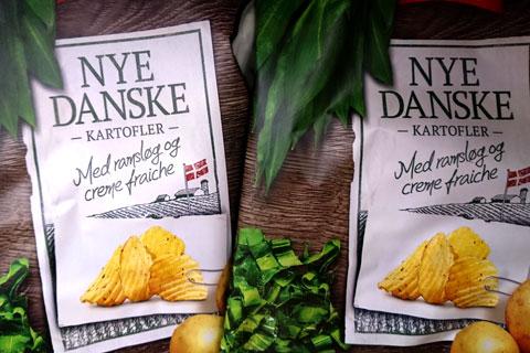 Черемша в продуктах питания Дании
