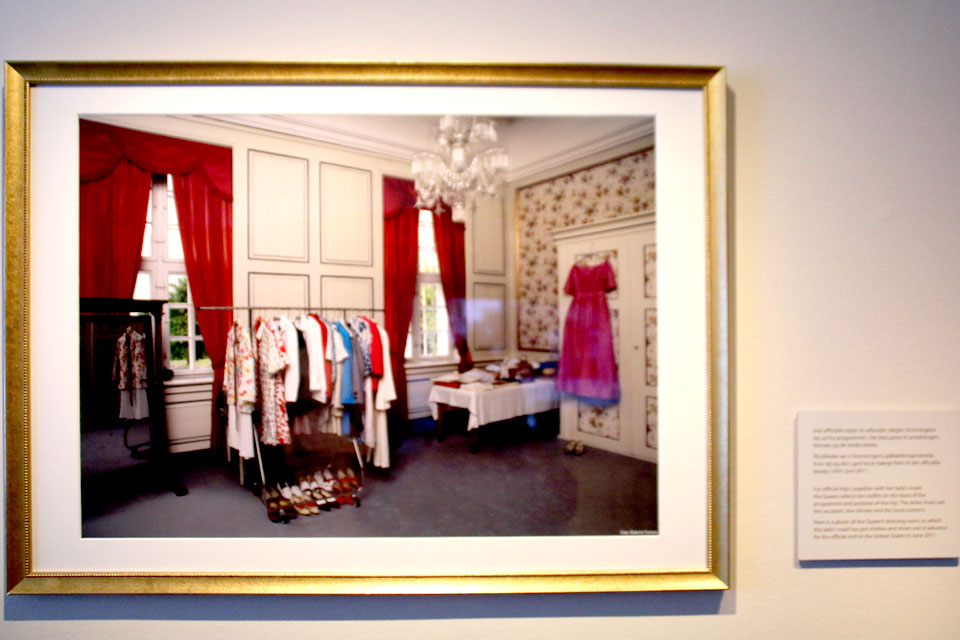 Фотография гардероба королевы Маргрете II
