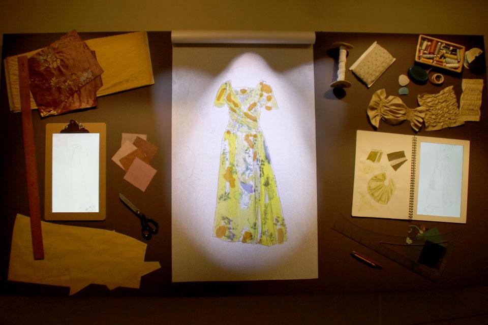 Трижды перешитое платье