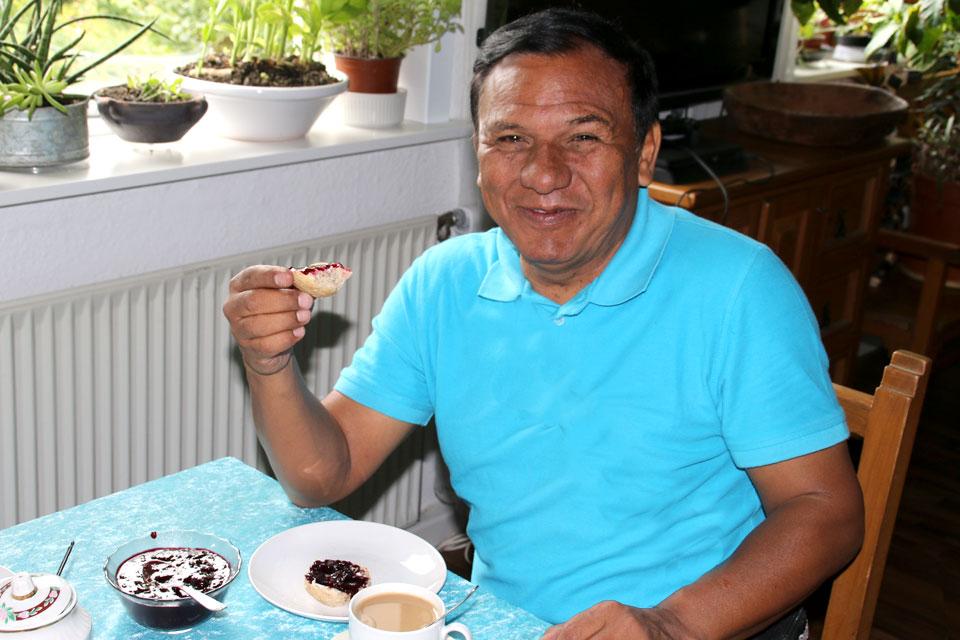 Варенье из ягод бузины черной. Фото 23 июня 2018, г. Орхус, Дания