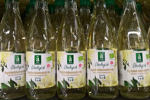 Напиток из бузины- Бузина в продуктах питания Дании