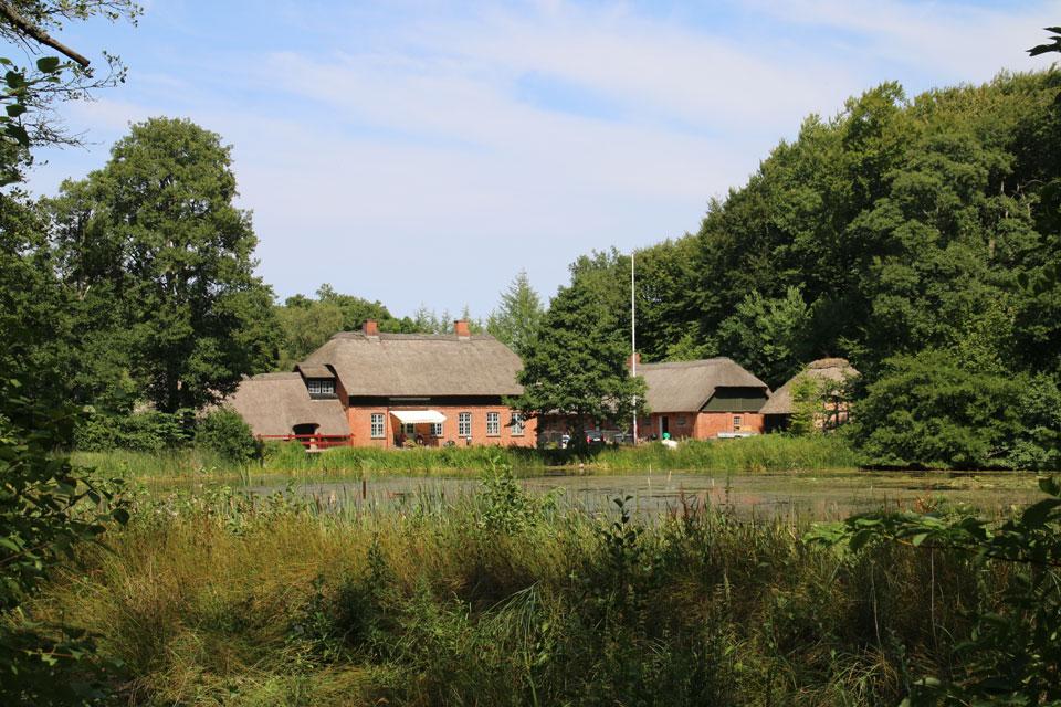 Водяная мельница Fussingø vandmølle