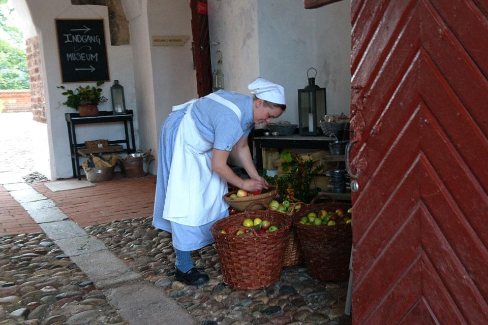 Праздник яблок в Гаммель Эструп