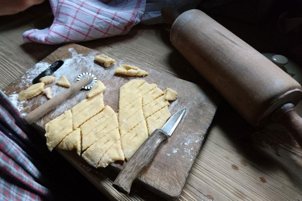 Клейнер - датское рождественское печенье, Старый Город, Орхус, Дания