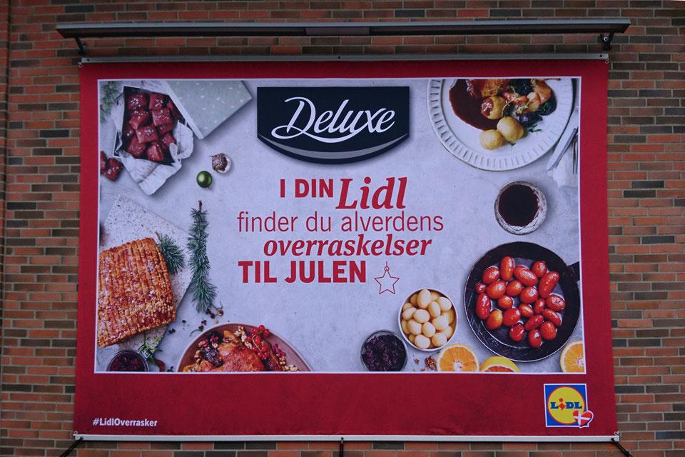Сладкий картофель по-датски реклама рождественской еды
