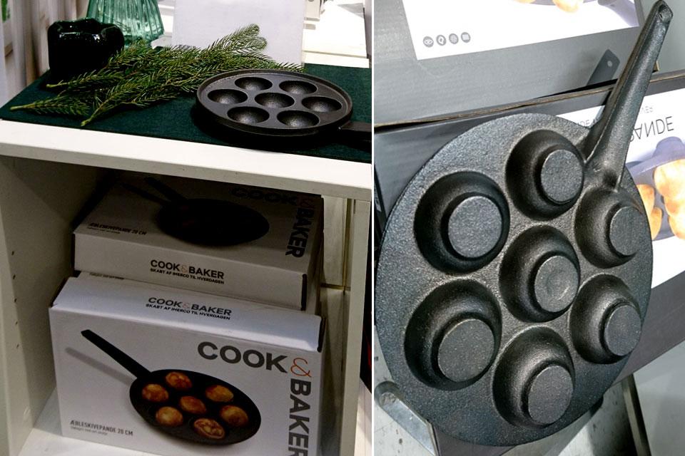 сковородки для яблочных пончиков обычно появляются в продаже перед рождеством