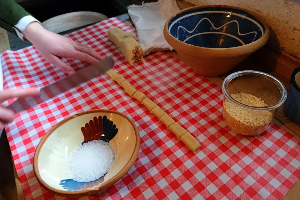 Классическая посыпка для печенья финский хлеб: