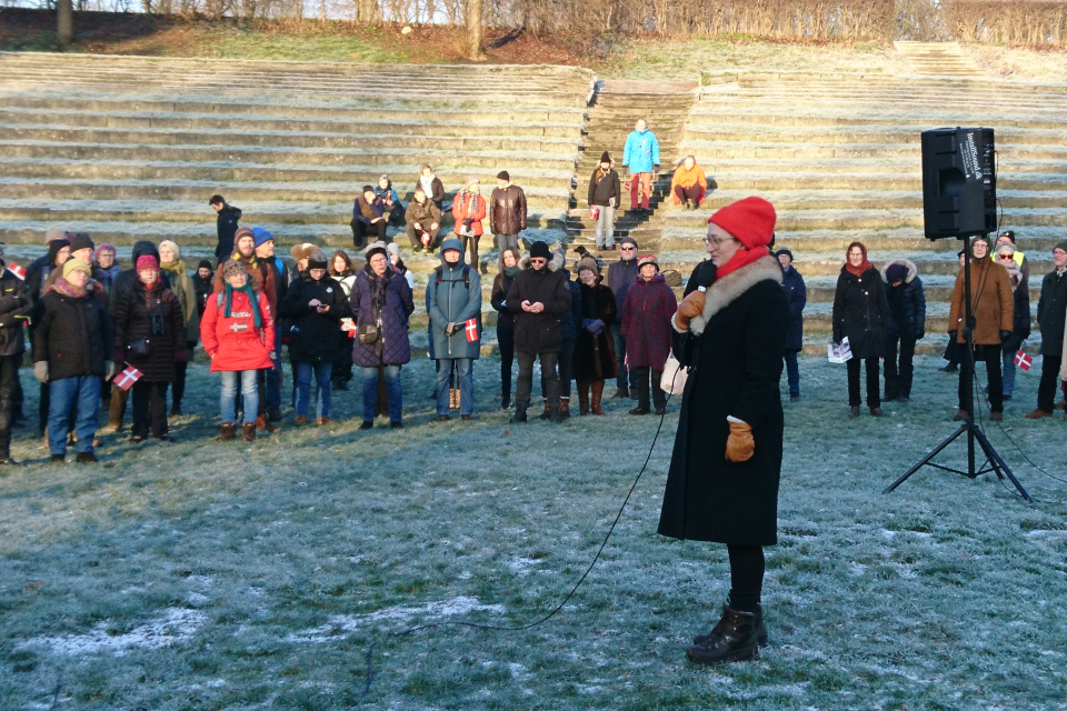 В поддержку живой природы Дании выступает Камилла Фабрициус