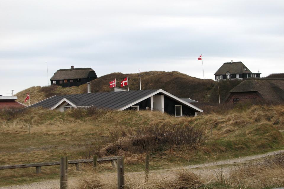 Летние домики на западном побережье Дании