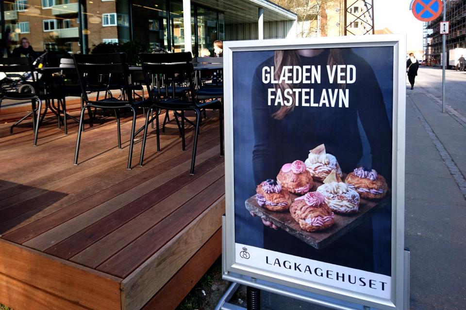Масленица в Дании - Фастелавн масленичные булки со сливками