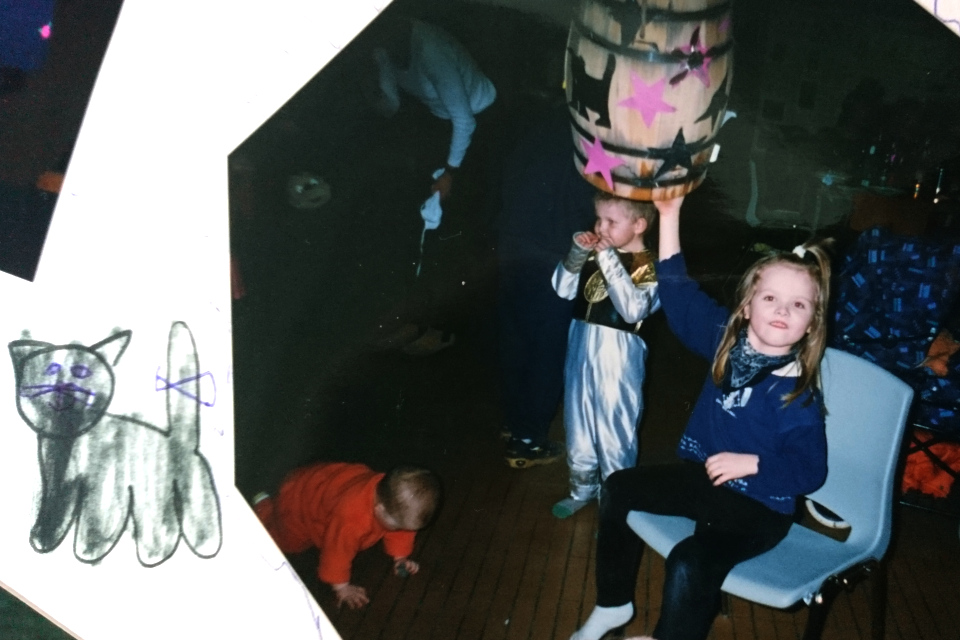 Масленица в Дании - Фастелавнв детском саду