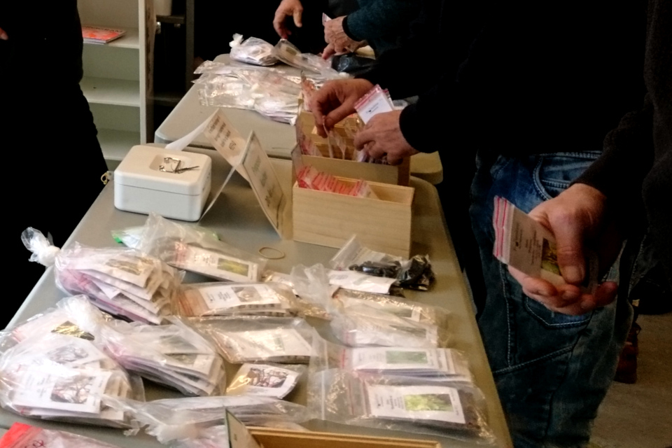 Общество коллекционеров семян Дании - обмен и покупка семян