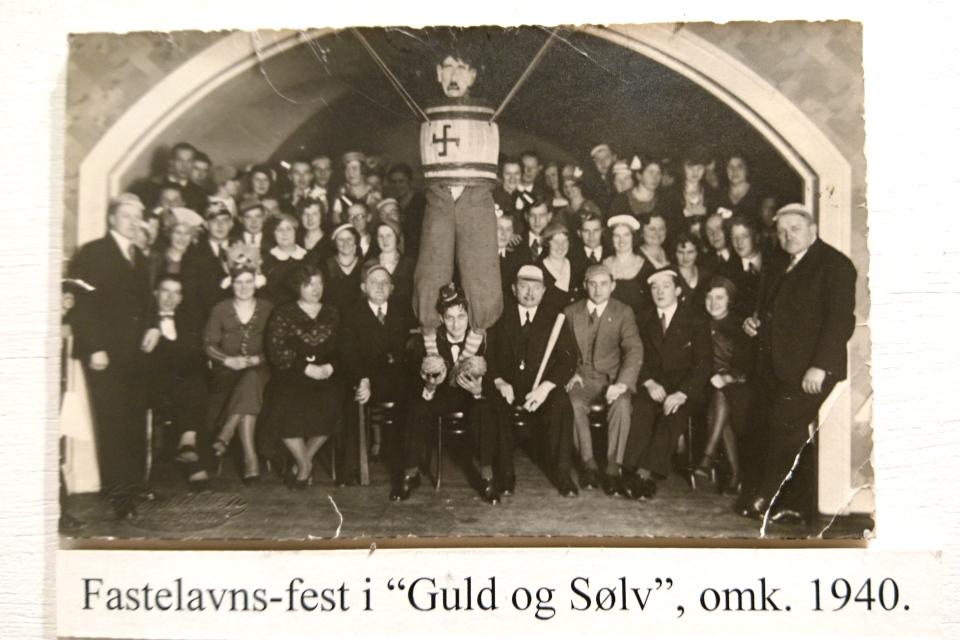 Празднование масленицы на ювелирной фабрике Cohrs Sølvvarefabrik 1940