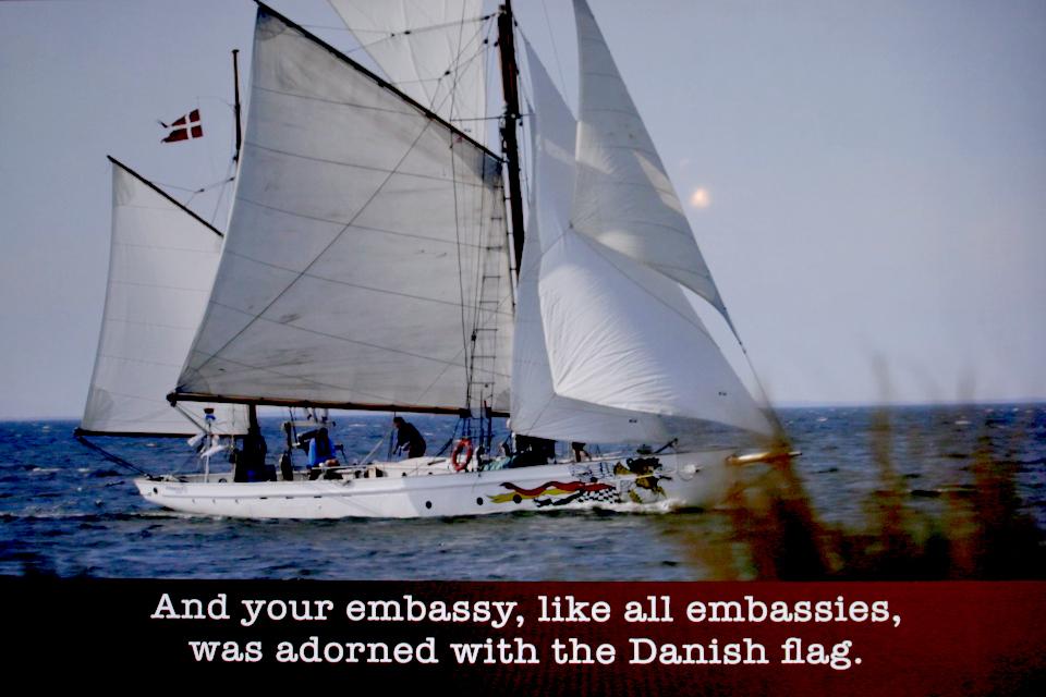 Корабль Nordkaperen, на котором Троэльс Клёведал совершал кругосветные плавания