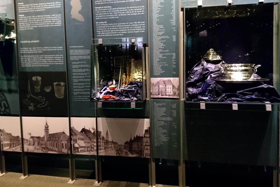 Выставка изделий из серебра Хорсенской фабрики