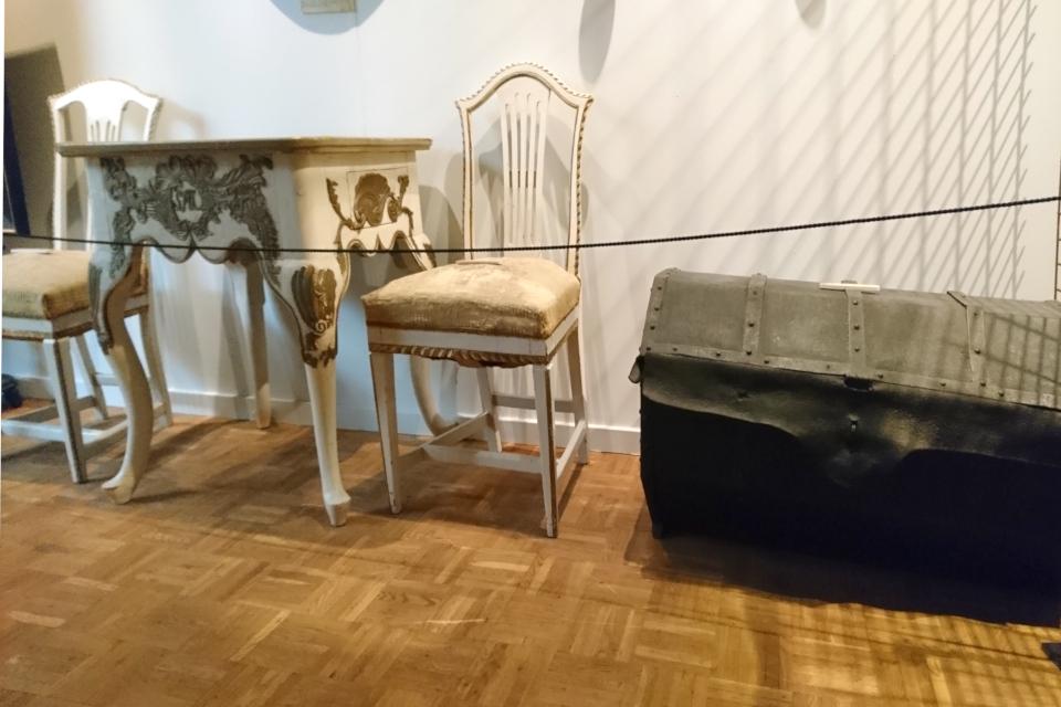 Сундук из России, в котором привезли вещи для Брауншвейгского семейства в Данию