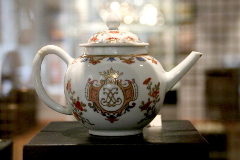 Чайник, который находился в русском княжеском дворе в Хорсенсе