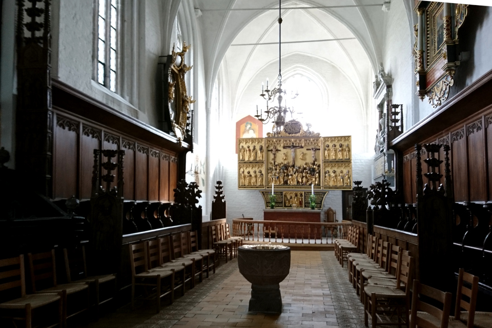 Церковь Klosterkirken, г Хорсенс, Дания