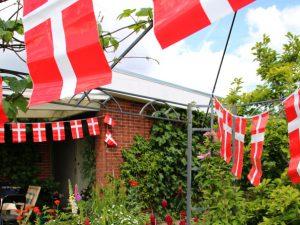 Флаг Дании Даннеброг