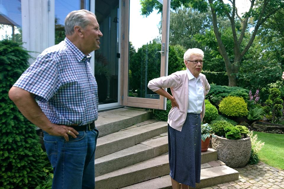 Хозяева сада - Кирстен и Ингольф Нильсен (Kirsten og Ingolf Nielsen)