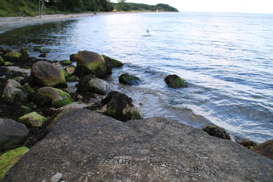 Лунные моря на берегу Мосгорд - Океан Бурь (дат. Stormenes Ocean)